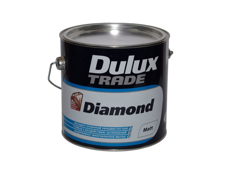 Краска Дулюкс Даймонд Матт | Dulux Diamond Matt, 2.5л